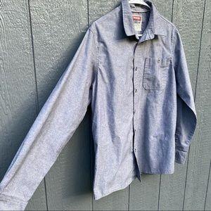 Wrangler Jeans Co Button Up Men's Shirt M